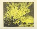 View Dark Trees and Golden Cloud digital asset number 1