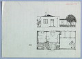 View Siedlungstype [Housing Example (Façade Elevation and Floor Plan)] digital asset number 1