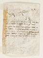 View Sketchbook Page: Stag Hunt in Persia (recto); Stag Hunt by Luigi Alamanni (verso), designs for the Venationes series digital asset number 2