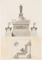View Design for a Princely Sepulcher Monument digital asset number 0