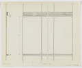 View Design for Wall-Mounted Combination Easel, Donald Deskey Associates Office, New York, NY digital asset number 0