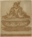 View Recto: Fountain Design with Oceanus and the River Gods Arno and Tiber digital asset number 1