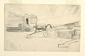 """View Study for """"Searchlight, Harbor Entrance, Santiago de Cuba"""" digital asset number 1"""
