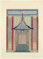View Design for a Passageway with Canopy, for Royal Pavilion, Brighton digital asset number 1