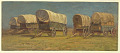 View Study, Covered Wagons digital asset number 1