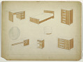 View Design for a Bedroom Suite in Lacquer and Wood digital asset number 1