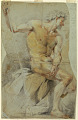 View Study of a nude elderly man, Bacchus or one of his companions digital asset number 1
