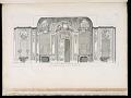 View Vüe de Même (Czartoryski) Sallon du Costé des Glacés (Design for the Salon Czartoryski), plate 85, in Oeuvres de Juste-Aurèle Meissonnier (Works by Juste-Aurèle Meissonnier) digital asset number 1