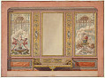View Elevation of a Salon Wall, for the Palace of the Prince of Hesse digital asset number 1