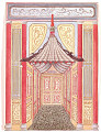 View Design for a Passageway with Canopy, for Royal Pavilion, Brighton digital asset number 0