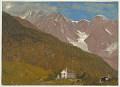 View An Alpine Landscape in Switzerland digital asset number 1