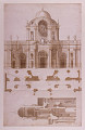 View Proposed Elevation, Section, and Plan for the Facade of San Giovanni, Laterano, Rome, Italy digital asset number 1