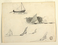 View Six Studies of Sailboats digital asset number 1