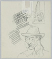 """View Studies for """"American Airlines to New York"""" Poster and """"Sanctuary"""" Book Jacket digital asset number 1"""