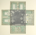 View Maquette for Sitting Room in Green and White, for McMillen, Inc. digital asset number 1
