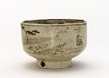 View Six-sided ember pot with design of Tama River of Musashino digital asset number 0