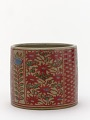 View Incense burner with design of flowers and vine scrolls digital asset number 0