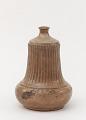 View Satsuma ware sake bottle with design of floral sprays digital asset number 0