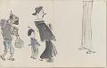 View Sketchbook depicting Kabuki play <i>Terokoya </i> digital asset number 4