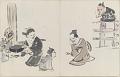 View Sketchbook depicting Kabuki play <i>Terokoya </i> digital asset number 5