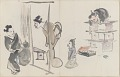 View Sketchbook depicting Kabuki play <i>Terokoya </i> digital asset number 6