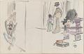 View Sketchbook depicting Kabuki play <i>Terokoya </i> digital asset number 7