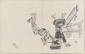 View Sketchbook depicting Kabuki play <i>Terokoya </i> digital asset number 9