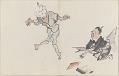 View Sketchbook depicting Kabuki play <i>Terokoya </i> digital asset number 10