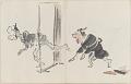 View Sketchbook depicting Kabuki play <i>Terokoya </i> digital asset number 11
