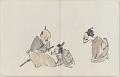 View Sketchbook depicting Kabuki play <i>Terokoya </i> digital asset number 14
