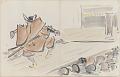 View Sketchbook depicting Kabuki play <i>Terokoya </i> digital asset number 17