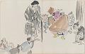View Sketchbook depicting Kabuki play <i>Terokoya </i> digital asset number 20