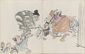 View Sketchbook depicting Kabuki play <i>Terokoya </i> digital asset number 21