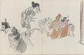 View Sketchbook depicting Kabuki play <i>Terokoya </i> digital asset number 24