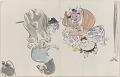 View Sketchbook depicting Kabuki play <i>Terokoya </i> digital asset number 25