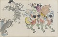 View Sketchbook depicting Kabuki play <i>Terokoya </i> digital asset number 27