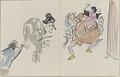 View Sketchbook depicting Kabuki play <i>Terokoya </i> digital asset number 28