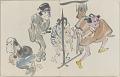 View Sketchbook depicting Kabuki play <i>Terokoya </i> digital asset number 30