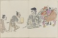 View Sketchbook depicting Kabuki play <i>Terokoya </i> digital asset number 34