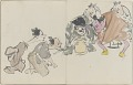 View Sketchbook depicting Kabuki play <i>Terokoya </i> digital asset number 35