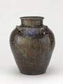 View Tamba ware tea-leaf storage jar digital asset number 0