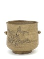 View Tea-ceremony water jar in style of Kyoto ware digital asset number 0