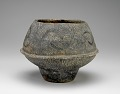 View Vessel with applied flange, incised and impressed decoration digital asset number 0