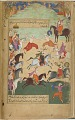 View The Ramayana (Tales of Rama; The Freer Ramayana), Volume 1 digital asset number 24