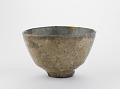 View Hagi ware tea bowl in the shape of a Korean tea bowl digital asset number 0