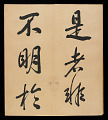 View Album of 33 Calligraphy Double-leaves (incomplete) digital asset number 16