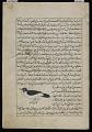 View Crow (Ghurab), from <em>Aja'ib al-makhluqat</em> (Wonders of Creation) by al-Qazvini digital asset number 0