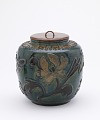 View Jar, with lacquer lid for use as water jar in Japan digital asset number 0