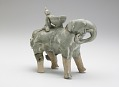 View Vessel in the form of an elephant with rider digital asset number 0