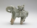 View Vessel in the form of an elephant with rider digital asset number 1